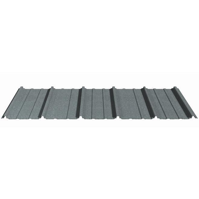 "Profile Steel Roofing - Victoria - 36"" x 8' - Galvanized"