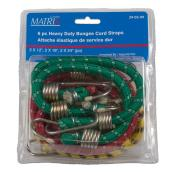 Heavy Duty Bungee Cord Straps - 6 Pieces