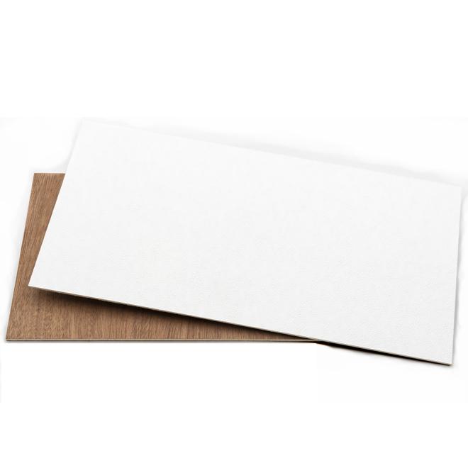 Snowdrift Prefinished Panel - 8' x 4' - Lauan/Vinyl