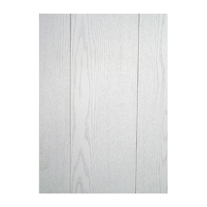 """Panneau préfini frêne, 8' x 4' x 1/9"""", lauan, blanc"""