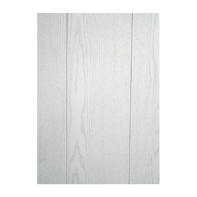"Ash Prefinished Panel - 8' x 4' x 1/9"" - Lauan - White"