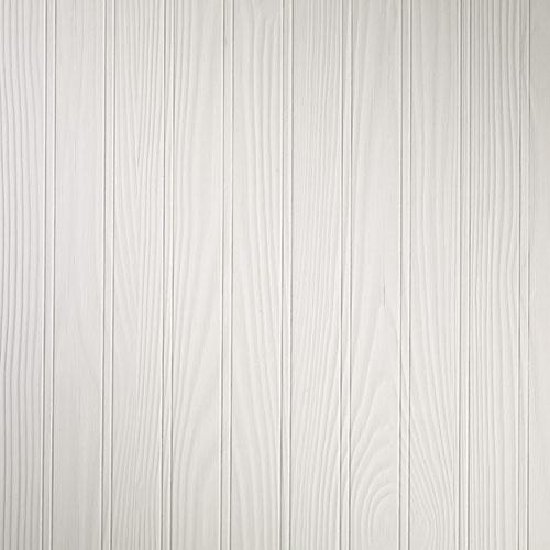 "Prestige Half-Wall Panelling - 48"" x 32"" - MDF - White"