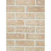 Prefinished Panel - Brick - 4' x 8' - Hardboard - Beige