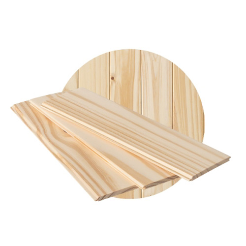Ecosens Knotty Pine Panelling - Natural Colour - V-Jointed