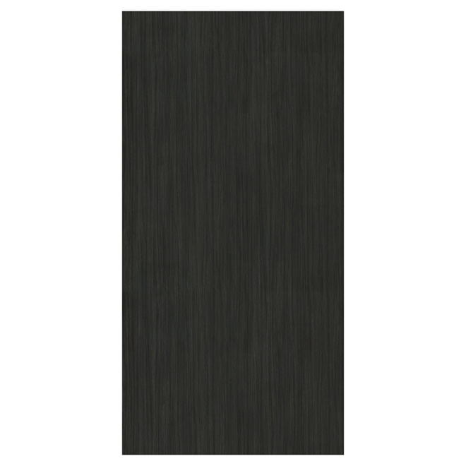 Melamine Decorative Panel - Licorice - 4'' x 8''