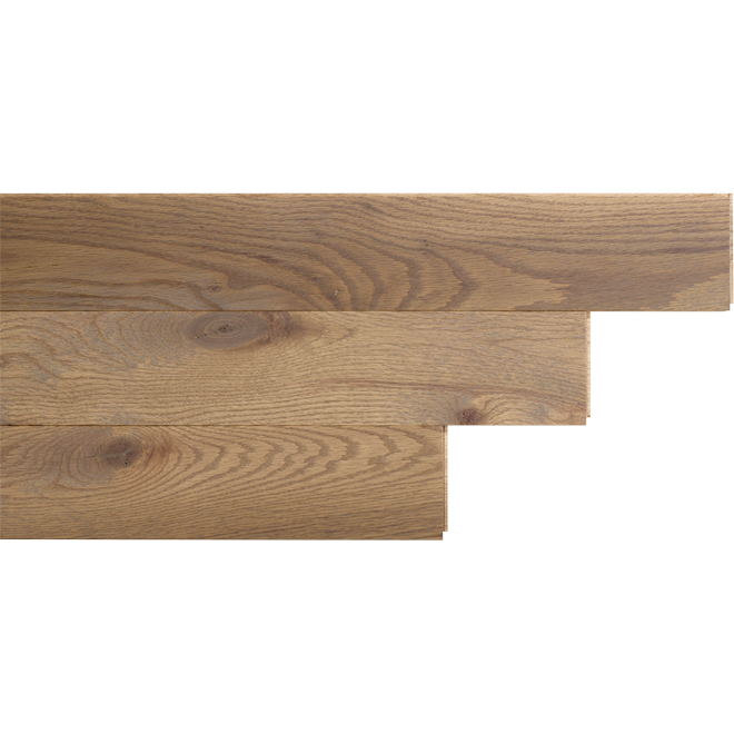 "Red Oak Hardwood Flooring- 3-1/4"" x 3/4"" - Ion Matte"