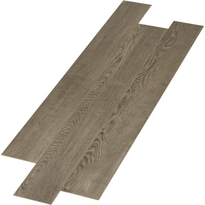 Plancher stratifié Dixville collection MonteSuspendubello de Goodfellow, bois composite de chêne, système à clic, texturé