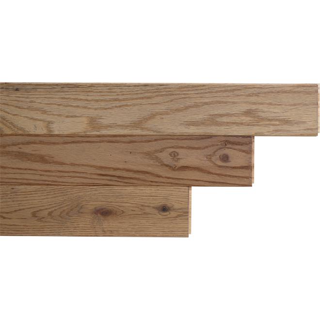 """Red Oak Hardwood Flooring - 3-1/4"""" x 3/4"""" - Artisan"""