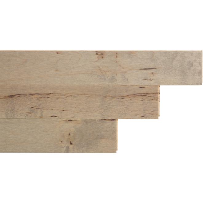 "Maple Hardwood Flooring - 3-1/4"" x 3/4"" - Illusion"