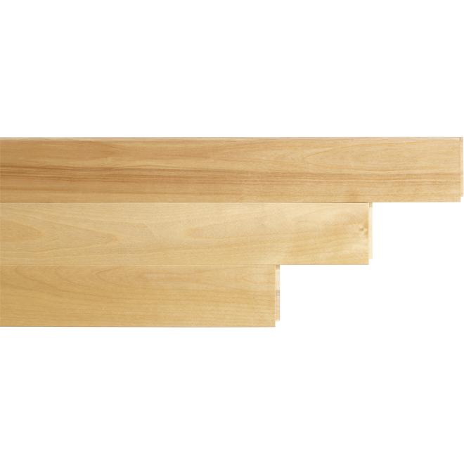 """Plancher de bois franc en merisier, 2-3/4"""" x 3/4"""", naturel"""