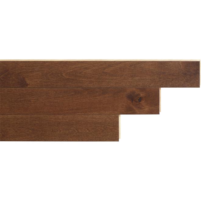 """Birch Hardwood Flooring - 2-3/4"""" x 3/4"""" - Samba"""