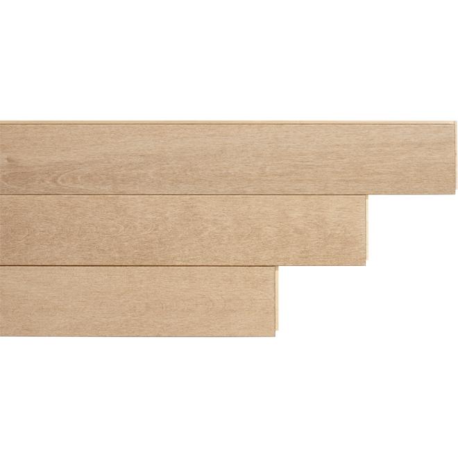 "Birch Hardwood Flooring - 3-1/4"" x 3/4"" - Jazz"