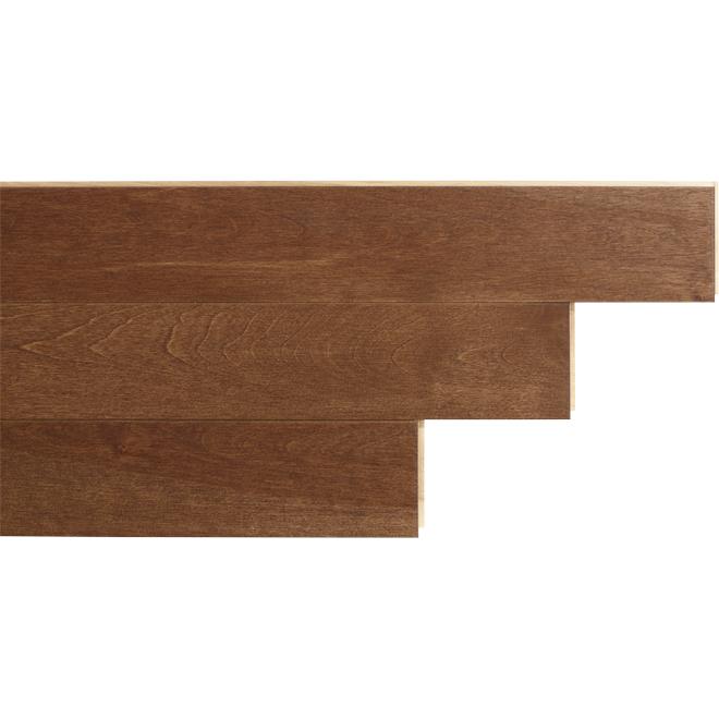 """Birch Hardwood Flooring - 3-1/4"""" x 3/4"""" - Samba"""