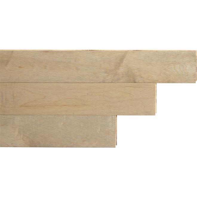 "Maple Wood Flooring - 1-2/3"" x 1/4"" - Pure"