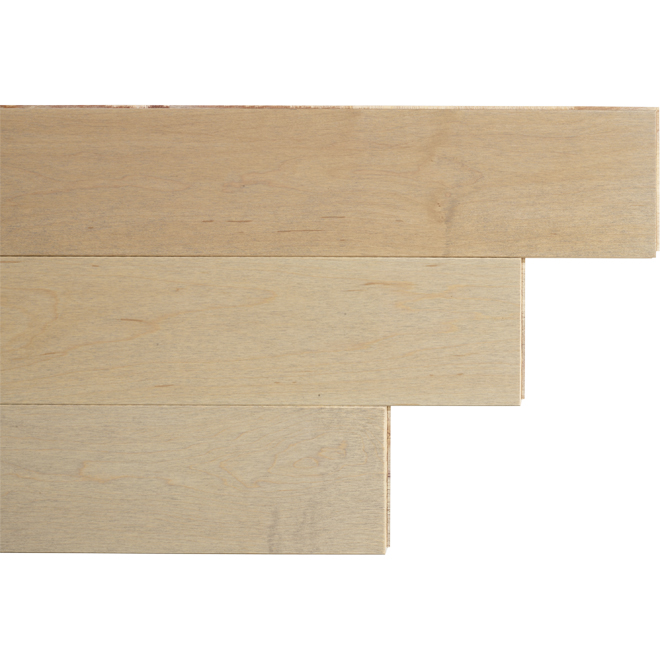 "Maple Wood Flooring - 4-1/2"" x 1/2"" - Pure"
