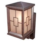 Wallmount Lantern with Motion Sensor