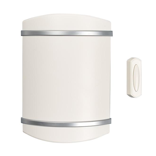 Wireless door Chime, White