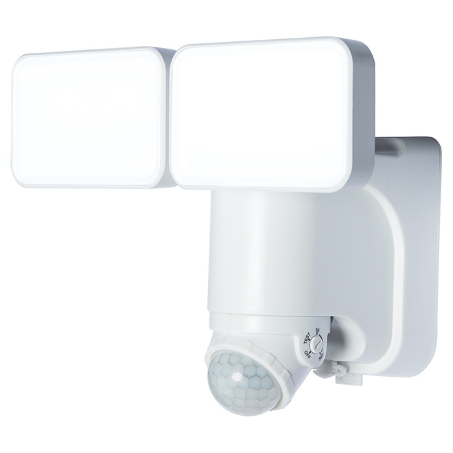 Heath Zenith Double Solar LED Motion Activated Security Light - Power Reserve Technology - 180° - White