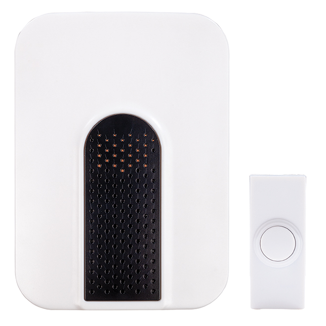Wireless Door Chime - Plug-In - 3 Selectable Tunes