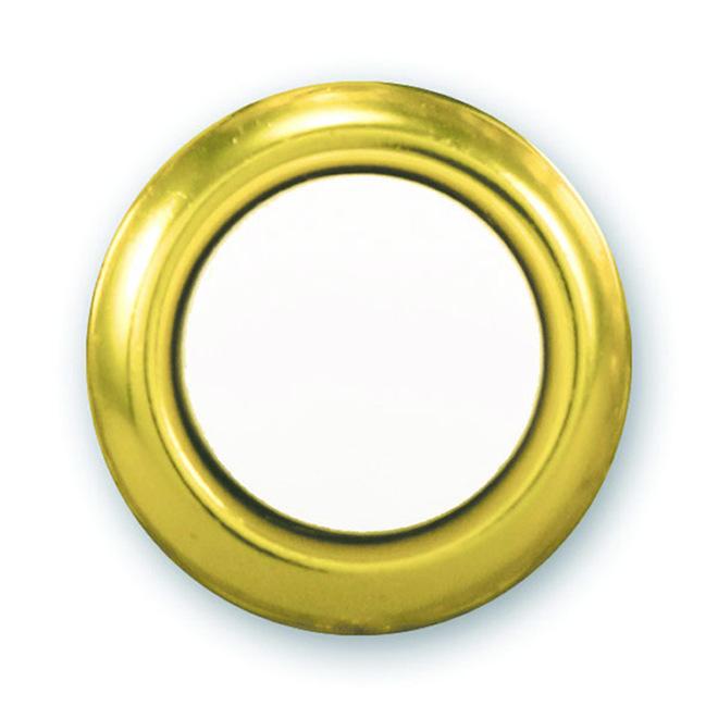 Heath Zenith Gold Lighted Wired Doorbell Push Button