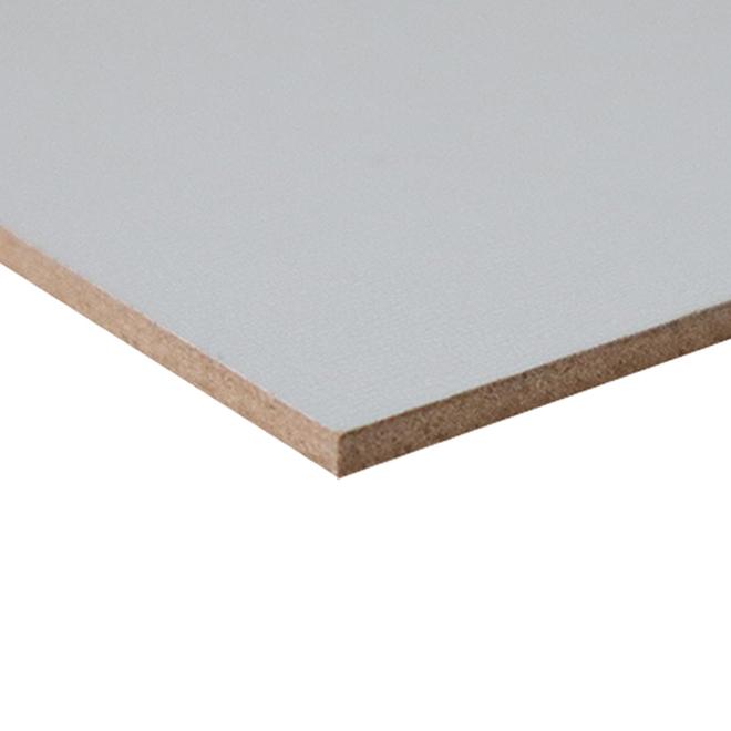 Hardboard Panel - 3/16-in x 4-ft x 8-ft - White