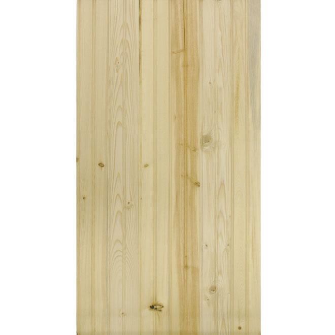 Yukon Wall Panelling - Beaded - 14 sq. ft. - Knotty Pine