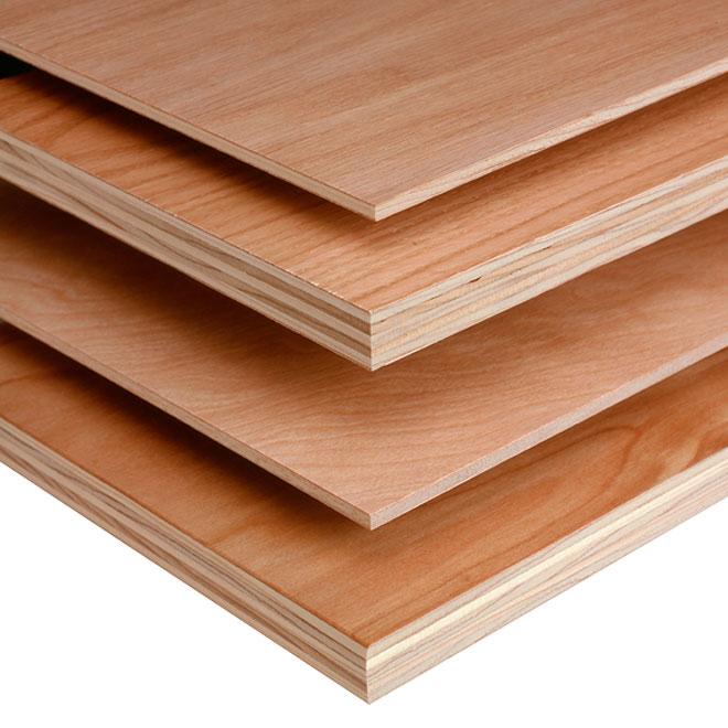 """Plywood - Birch - C2 - 18 mm x 48"""" x 96"""""""