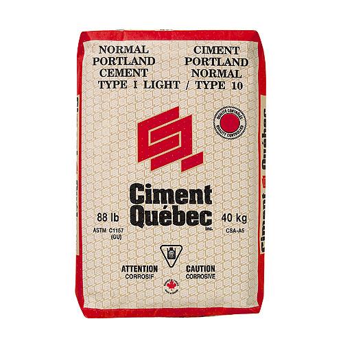 Sac de ciment Portland, type 10,  40 kg