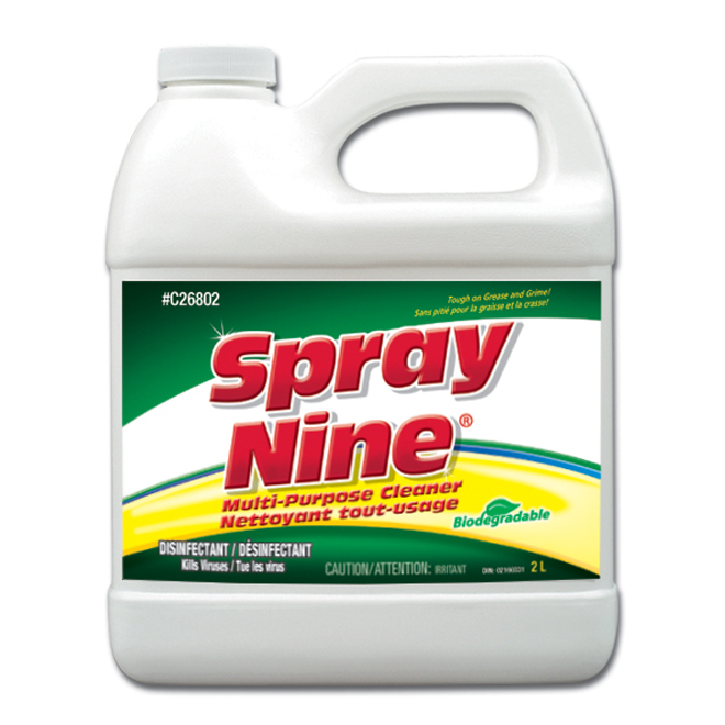 Nettoyant tout-usage Spray Nine, 2 l