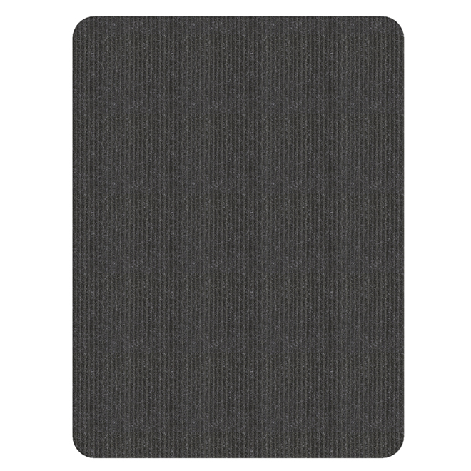 "Rectangular Mat - 47"" x 36"" - Charcoal"