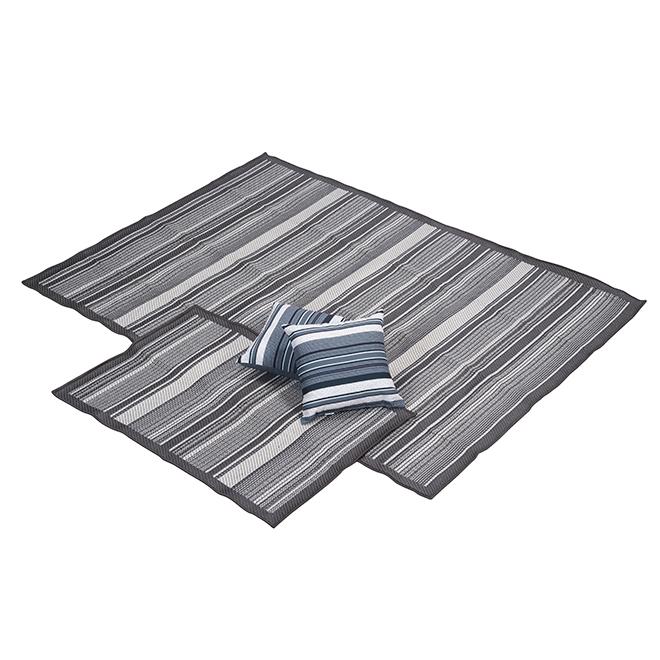 Korhani Outdoor Rugs Set - Windsor - 3 Pieces - Grey K15035