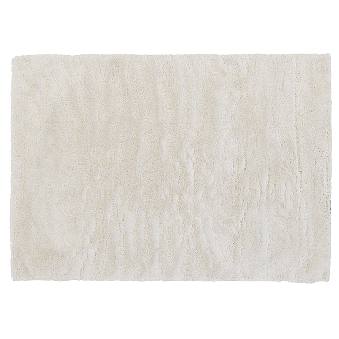 Korhani Warwick Area Rug - White - 5-ft x 7-ft