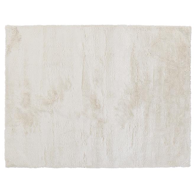 "Tapis décoratif Warwick, blanc, 6' 7"" x 8' 9"""