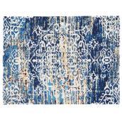 Tapis décoratif Sherborne, bleu, 6' 7
