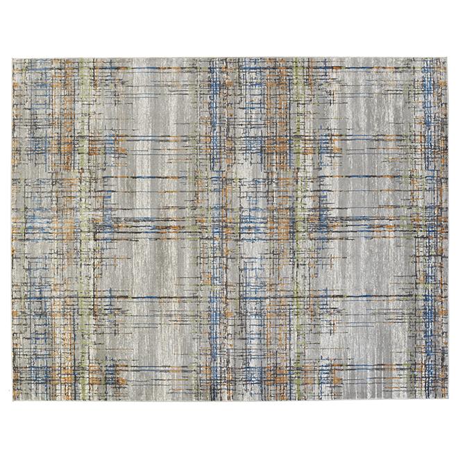 Korhani Alton Interior Rug - Grey - 7-ft x 9-ft