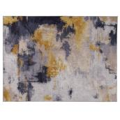 Area Rug - Melgund - Beige/Grey/Yellow - 5' 3