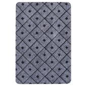 Rectangular Rubber Mat - Affleck - Grey - 2' x 3'