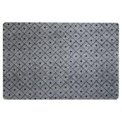 Rubber Utility Mat - 4' x 6' - Grey
