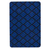Rubber Rectangular Utility Mat - Blue - 2' x 3'