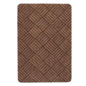 Rubber Rectangular Utility Mat - Brown - 2' x 3'