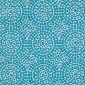 "Outdoor Rug - ""Curragh"" Model - 59"" X 84"" - Aqua"