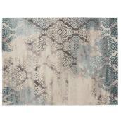 Korhani Home Indoor Carpet - Illuster - 5' x 7' - Grey