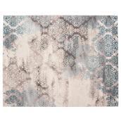 Korhani Home Indoor Carpet - Illuster -  8' x 10' - Grey
