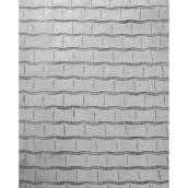 Tapis d'intérieur Raaka de Kormani Home, 7 pi x 5,25 pi, gris