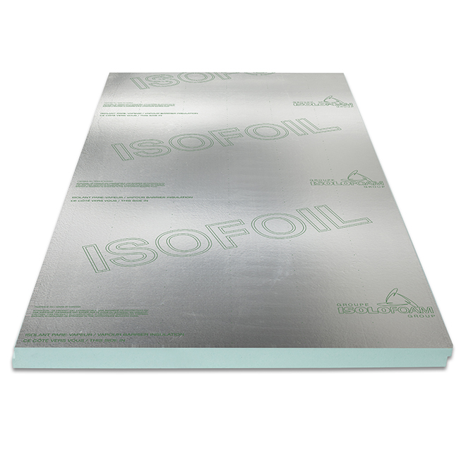 "Isofoil Vapour-Barrier Panel - 2"" x 4' x 8'"