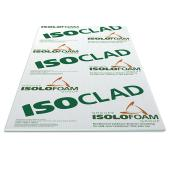 "Isolant rigide pare-air Isoclad, 2 1/4"" x 4' x 9'"
