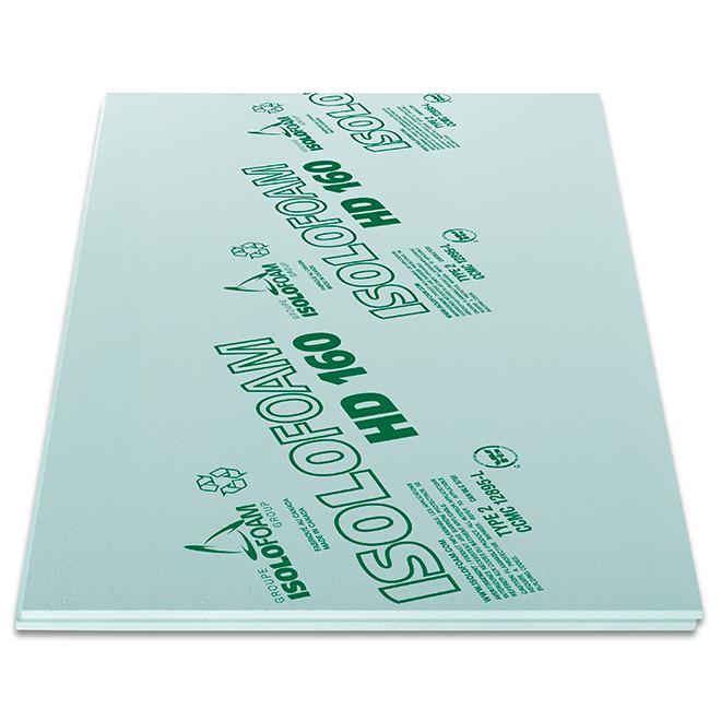 "Polystyrene Insulating Panel - R5.05 - 1 1/4"" X 48"" X 96"""