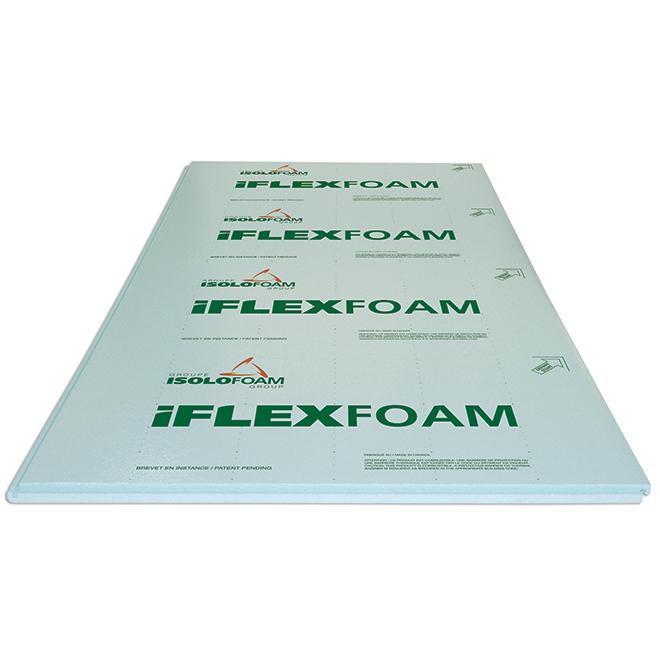 "Panneau isolant «iFlexFoam 160», 96"" x 48"" x 1 1/4"", R5.05"
