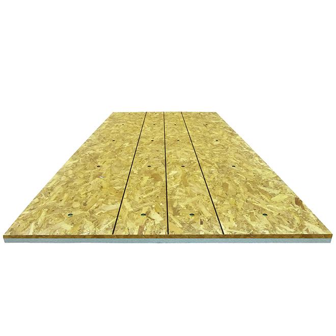 "Polystyrene Insulating Panel - R4.15 - 1 5/16"" X 48"" X 108"""