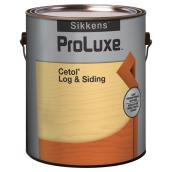 Log and siding coating